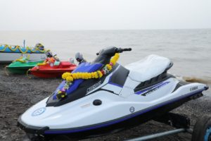Water sports activities launched by Department of Tourism – Daman at Lighthouse Beach of Moti Daman.