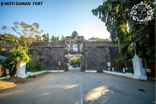 The Fort of Moti Daman